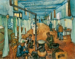 The Ward in the Hospital at Arles by Vincent van Gogh (1889) Courtesy Oskar Reinhart Collection, Winterthur