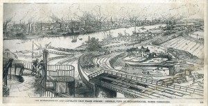 Middlesbrough and Cleveland Iron Trade, 1881, with kind permission of Middlesbrough Libraries.