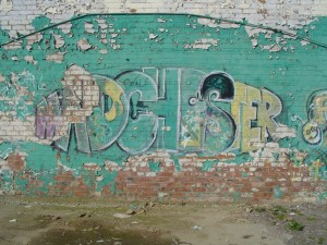 Madchester Graffiti - The Second Summer of Love 1989. This time the regions (Manchester) led the way in the new psychedelia.